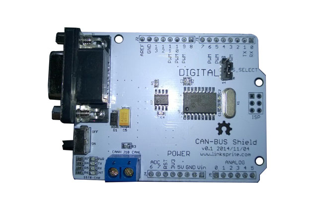 can bus shield for arduino and pcduino. Black Bedroom Furniture Sets. Home Design Ideas